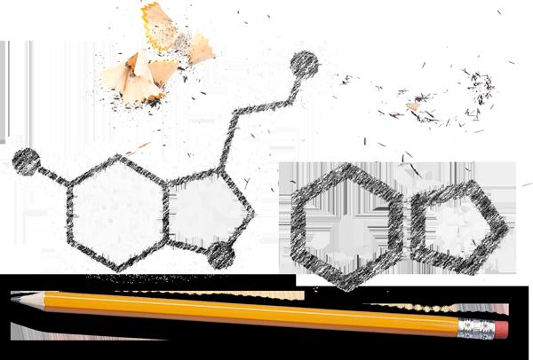Ontwerpfase van het logo Seroto9.